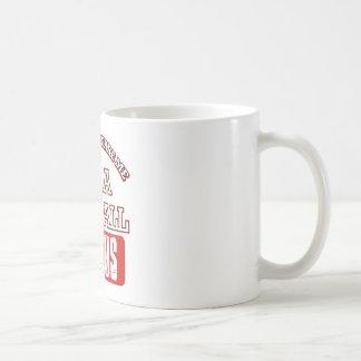 netball genius basic white mug