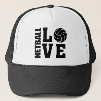 NETBALL LOVE Netball Trucker Hat