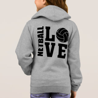 Netball Players Ultimate I Love Netball Hoodie