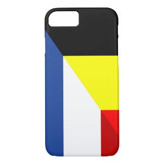 netherland belgium flag half country flag iPhone 8/7 case