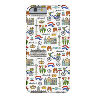 Netherland Doodle Pattern Barely There iPhone 6 Case