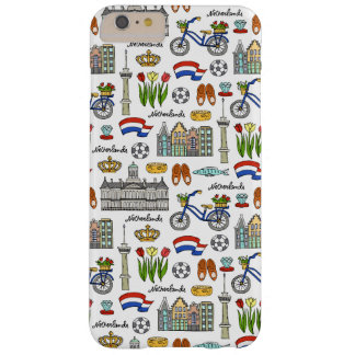 Netherland Doodle Pattern Barely There iPhone 6 Plus Case