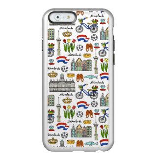 Netherland Doodle Pattern Incipio Feather® Shine iPhone 6 Case