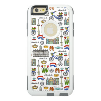 Netherland Doodle Pattern OtterBox iPhone 6/6s Plus Case
