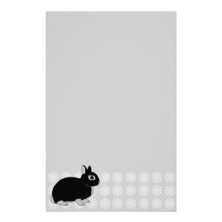 Netherland Dwarf Rabbit Silver Marten Stationery