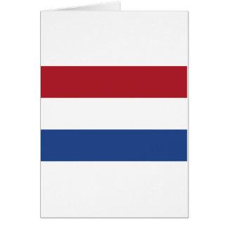 Netherland Holland Patriotic Pattern Card