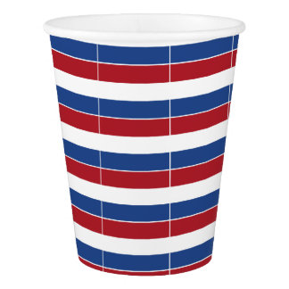 Netherland Holland Patriotic Pattern Paper Cup