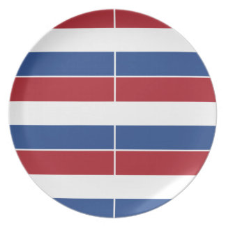 Netherland Holland Patriotic Pattern Plate