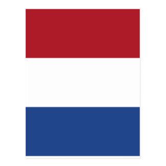 Netherland Holland Patriotic Pattern Postcard