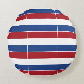 Netherland Holland Patriotic Pattern Round Cushion