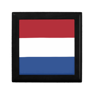 Netherland Holland Patriotic Pattern Small Square Gift Box