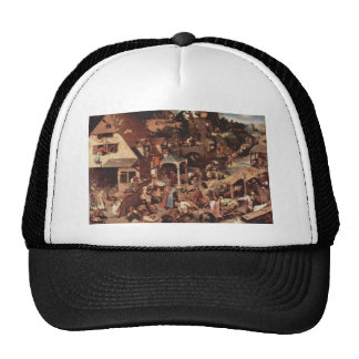 Netherland Proverbs - 1559 Mesh Hat