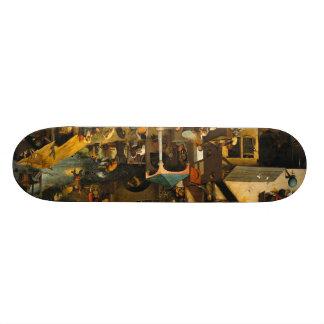 netherlandish-proverbs-1559.jpg 19.7 cm skateboard deck