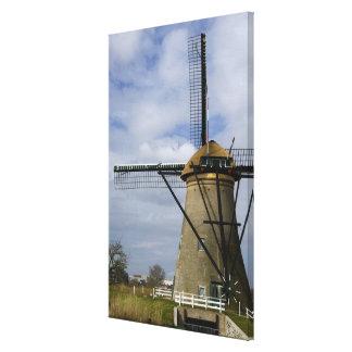 Netherlands (aka Holland), Kinderdijk. 19 Canvas Prints