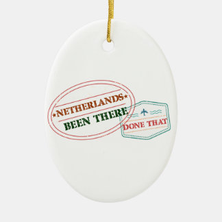 Netherlands Antilles Been There Done That Ceramic Ornament