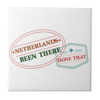 Netherlands Antilles Been There Done That Ceramic Tile