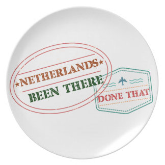 Netherlands Antilles Been There Done That Plate