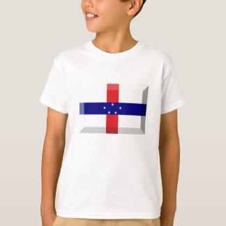 Netherlands Antilles Flag Jewel T-Shirt