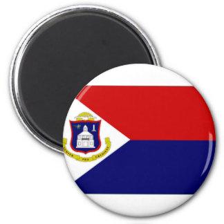 Netherlands Antilles St Maarten Flag Magnet