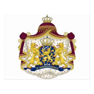 Netherlands Coat of Arms Post Cards