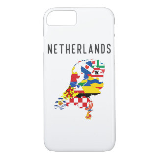 Netherlands country regions province flag map symb iPhone 8/7 case