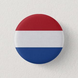 Netherlands Flag 3 Cm Round Badge