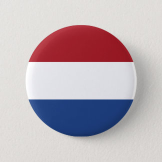 Netherlands Flag 6 Cm Round Badge