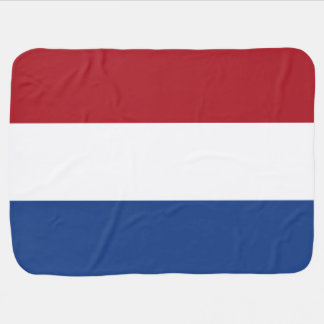 Netherlands Flag Baby Blanket