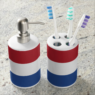 Netherlands Flag Bathroom Set