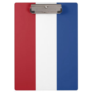 Netherlands Flag Clipboard