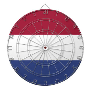 Netherlands Flag Dartboard