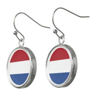Netherlands Flag Earrings