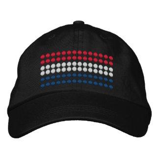 Netherlands Flag Embroidered Hat