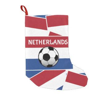Netherlands Flag Football Small Christmas Stocking
