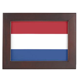 Netherlands Flag Keepsake Boxes