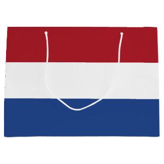 Netherlands Flag Large Gift Bag