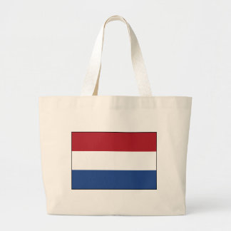 Netherlands Flag Large Tote Bag