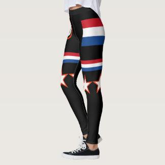 Netherlands Flag Leggings
