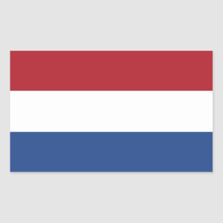 Netherlands Flag Rectangular Sticker