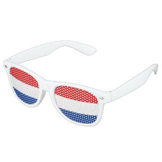 Netherlands Flag Retro Sunglasses