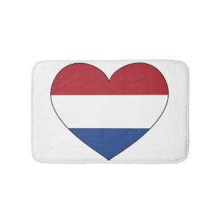 Netherlands Flag Simple Bath Mat
