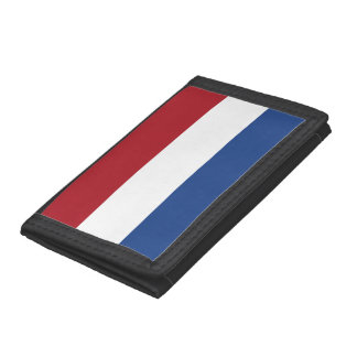 Netherlands Flag Tri-fold Wallet