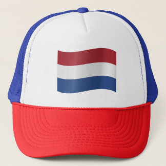 Netherlands Flag Trucker Hat