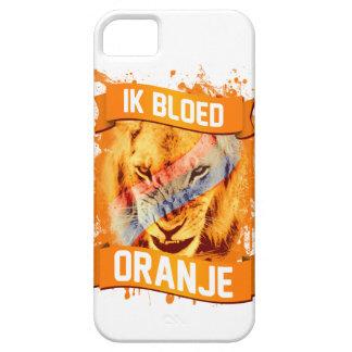 "Netherlands ""I Bleed Orange"" in Dutch iPhone 5 Covers"