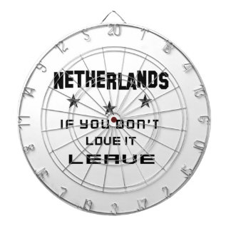Netherlands If you don't love it, Leave Dartboard