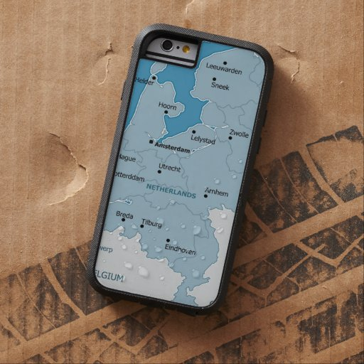 Netherlands Map iPhone 6 Case