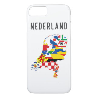 Netherlands nederland name text country regions pr iPhone 8/7 case