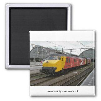 Netherlands Ry postal electric unit Magnet