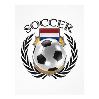Netherlands Soccer 2016 Fan Gear 21.5 Cm X 28 Cm Flyer