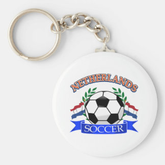 Netherlands soccer ball designs key chains